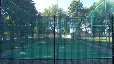 Barking CC Non-turf cricket nets design & construction
