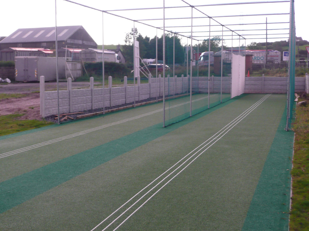 Lindal Moor non-turf cricket practice facility refurbished by Total Play