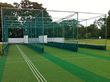 Sulhampstead CC non-turf practice facility after refurbishment by Total Play