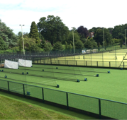 Design & installation of new cricket based MUGA at Churchers College