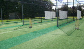 Summerfields cricket practice facilities Total-Play