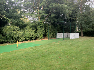 Private Cricket Turf Installation Total-Play Side