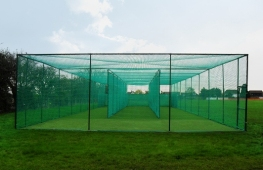 New Three Lane Non-Turf Artifical Circket Practice Facility built at Clevedon CC