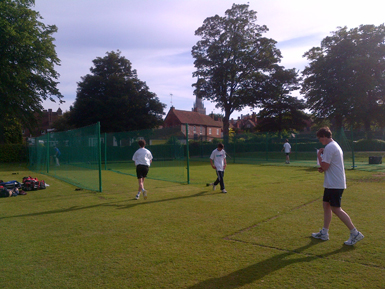 Chichester non-turf cricket net facility after