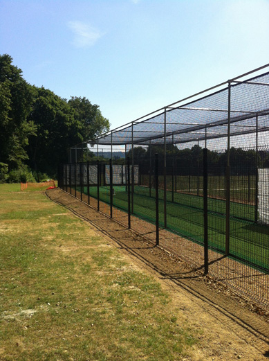 Fernhurst CC new Practice facility outerfence