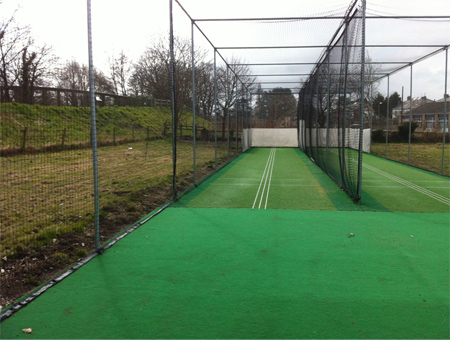 St Asaph practice system after photo