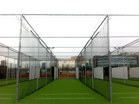QE Olympic Parknon-turf practice system completly refurbishment by Total Play