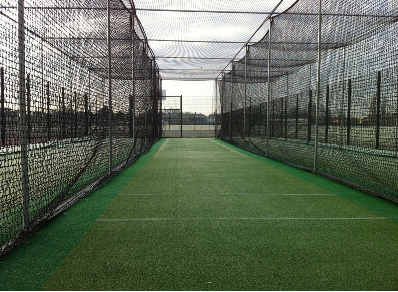 Spikes Bridge Park new non-turf practice facility, was designed and built by the team at Total Play