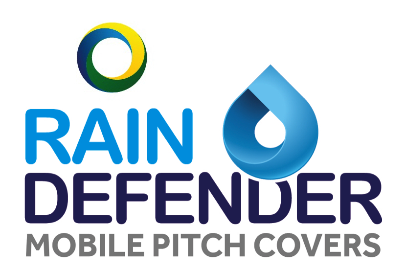 Rain Defender Mobile pitch cover logo