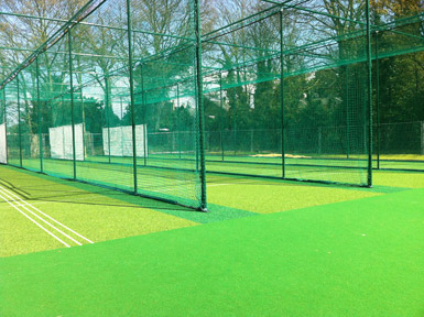 Teddington cricket nets turf Total-Play
