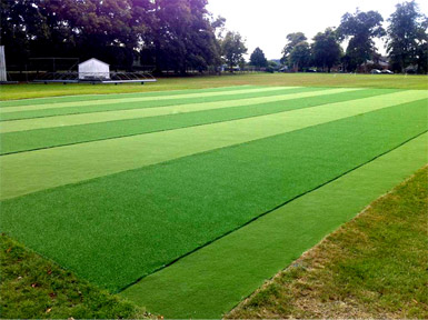 Ardingly College after refurbishment photo of non-turf practice pitchs