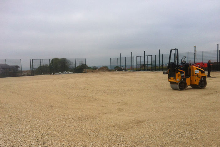 Birkdale Cricket Turf In Progress Total-Play