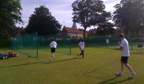 Chichester Priory CC new non-turf cricket facility thumbnail
