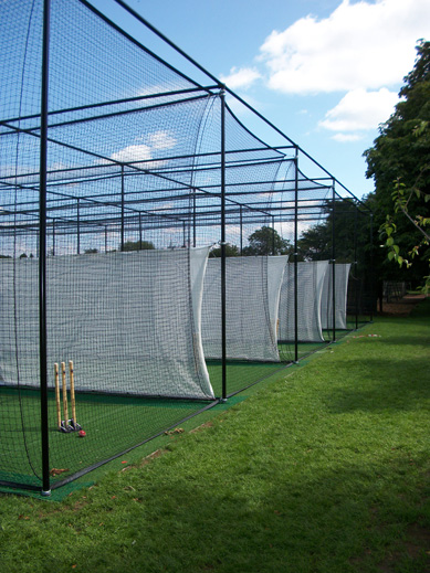 Summerfields cricket practice facility sideangle