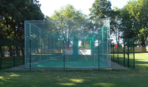 Barking CC non-turf cricket nets
