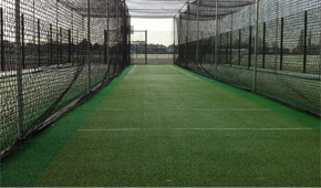 Spikes Bridge Park New non-turf practice facility, design and installed by Total Play