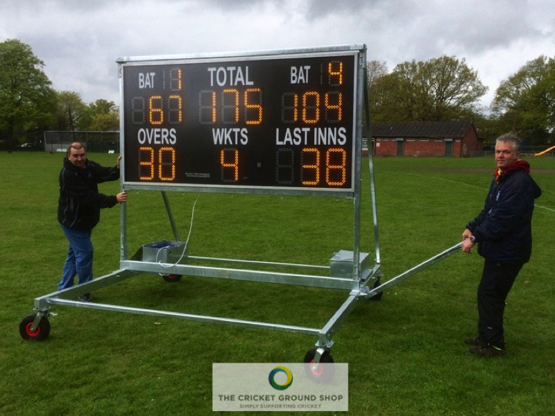 Moving a Scoreboard on a trolley