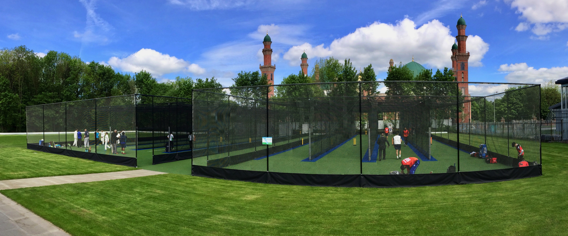 Bradford Park Avenue Total-Play Cricket Nets