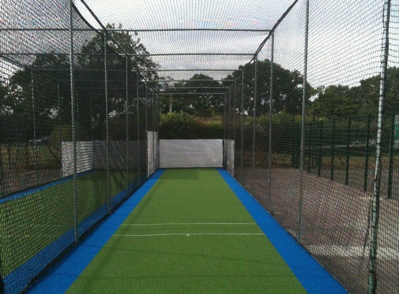 New TP365 Non-turf Cricket practice Facility at Crawley Eagles CC