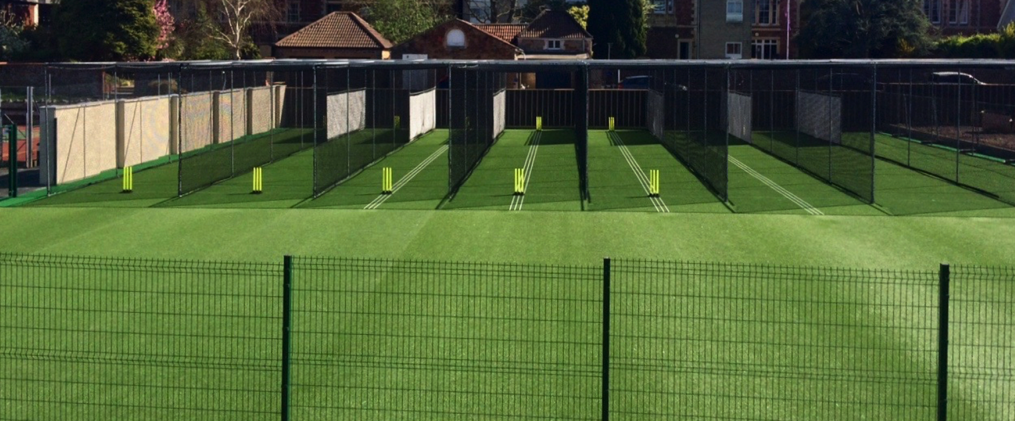 Clifton College Cricket Nets Total-Play Installation