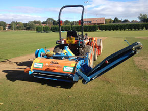 Pitch Contruction & Maintenance Services Equiment