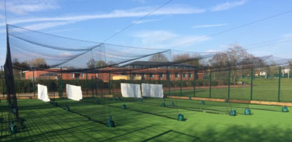 Design & installation of new cricket based MUGA at Bromsgrove School