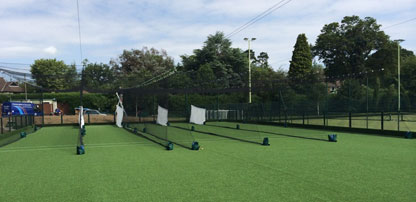 Design & installation of new cricket based MUGA