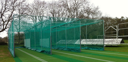 Design & installation: Non-turf Cricket Net Facility