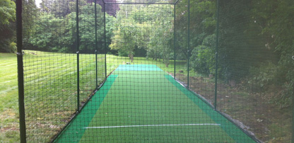 Cricket pitch and net design & installation