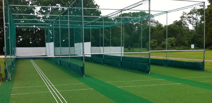 Non-turf cricket practice facility refurbishment