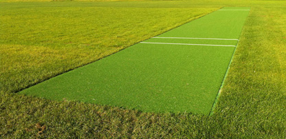 Design & installation of new non-turf cricket match pitch