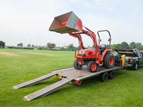 Cricket pitch maintenance vehicles