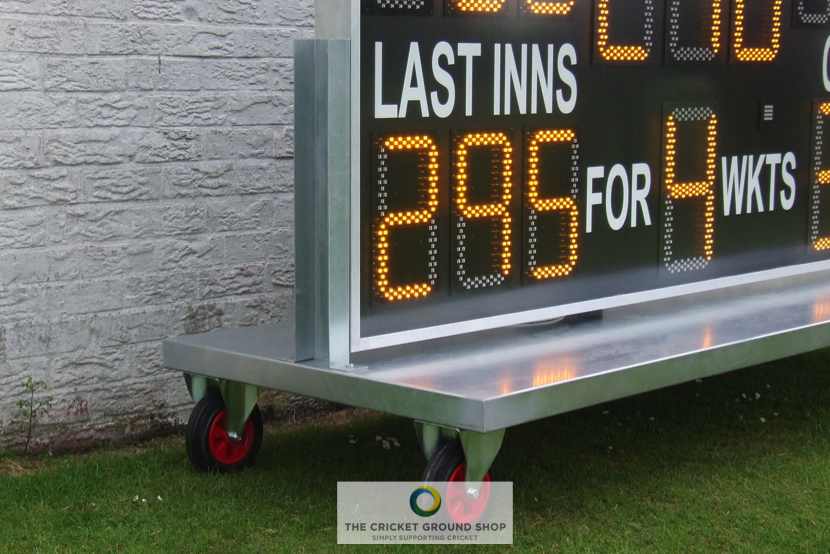 Electronic Scoreboard Trolley Close