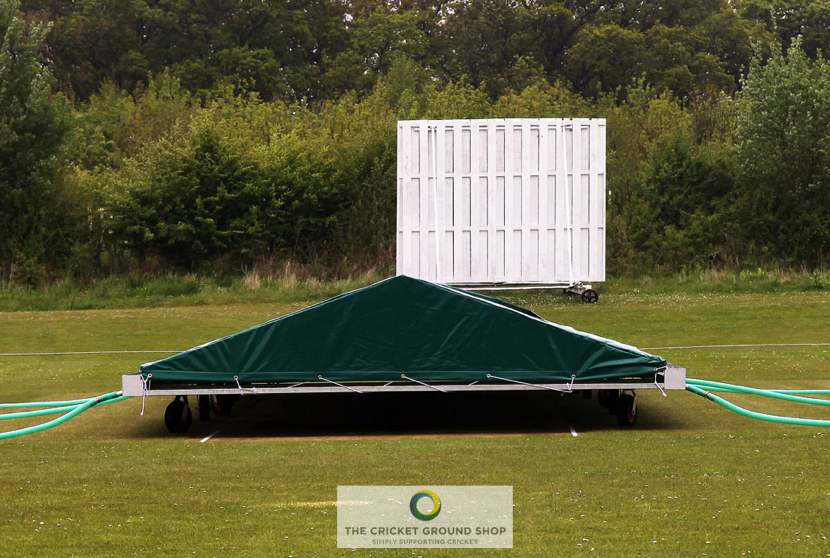Apex Mobile Pitch Cover Canvas Roof front