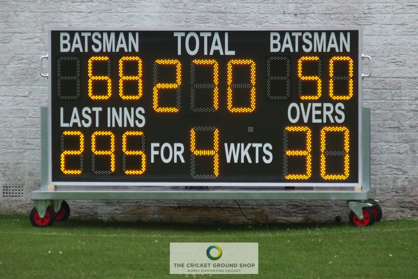 Electronic Scoreboard Trolley Close Full