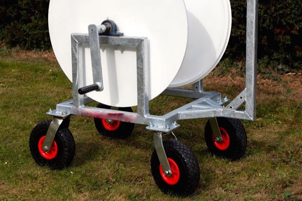 Mobile Boundary Rope Winder Wheels