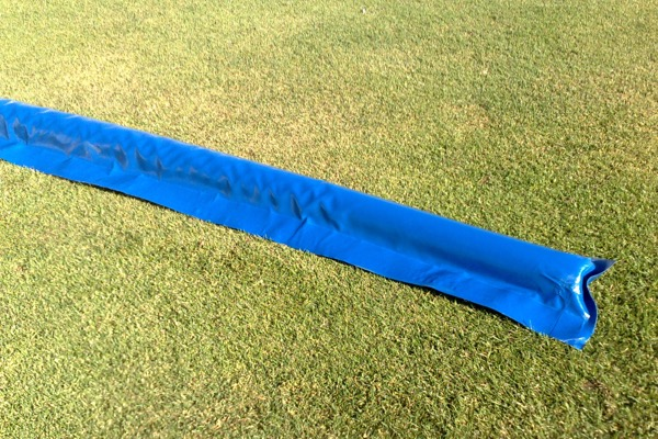 PVC Boom Pitch Protection, guide water from your pitch