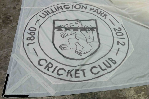 Climate Cover System with Club Branding. Lullington Park CC