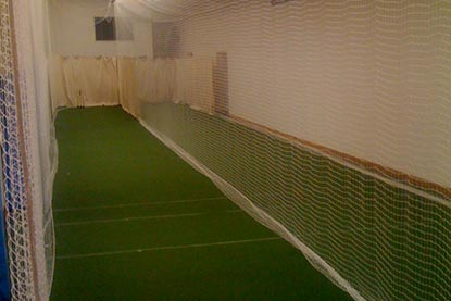 Indoor Netting for cricket