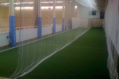 Indoor Netting great for cricket