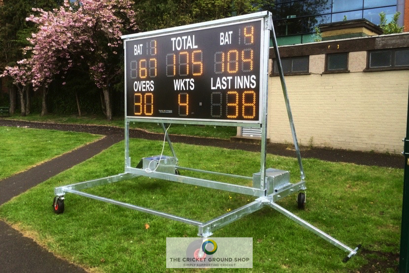 Electronic Scoreboard Trolley Side