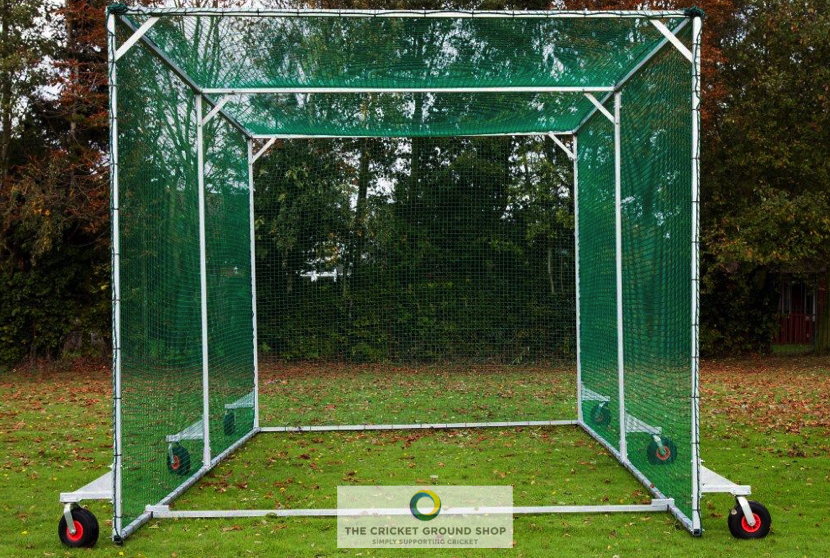 Mobile Batting Protection Cage Front Opening