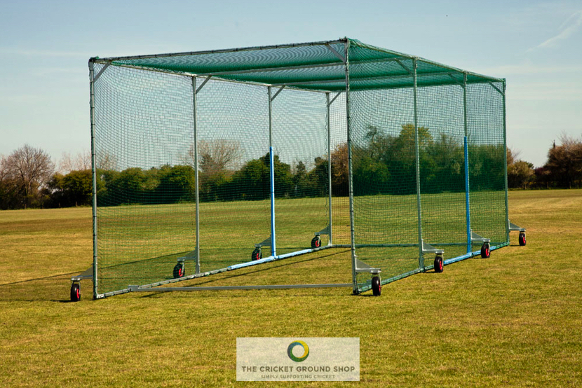 Protection Cage HD Mobile Batting Cage Side