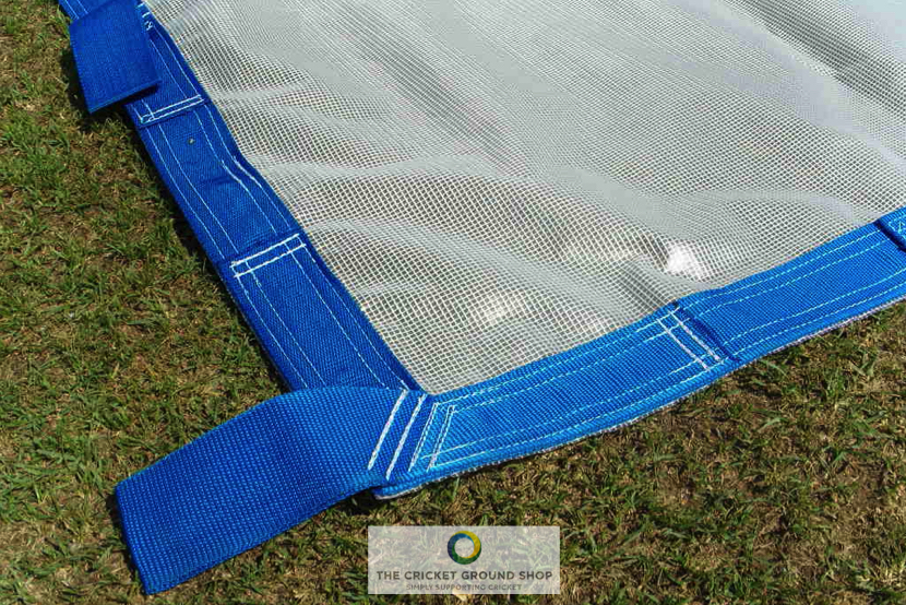 Raincover+ a PVC Flat Sheets to protect against rain with Handles for pulling