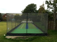 New synthetic practice nets facility