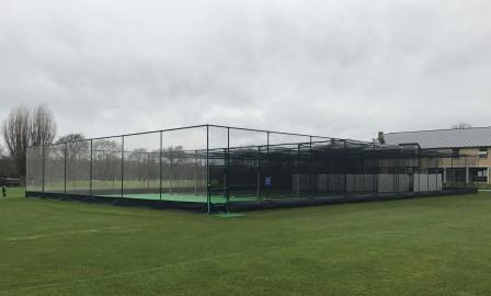 Artificial cricket practice nets