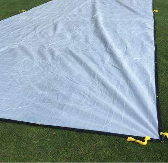 rain cover cricket pitch cover from total-play Ltd