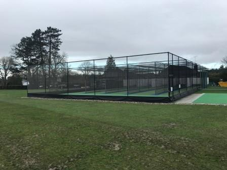 New artificial cricket practice nets installed by total-play