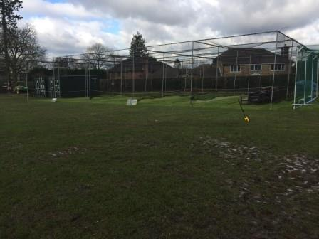 Berkhamsted cricket nets before total-play renovation