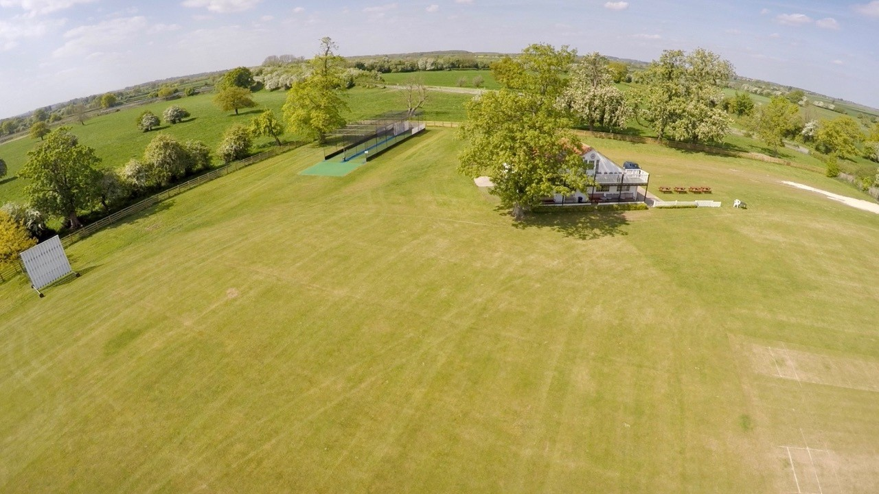 Bolton Percy new artificial cricket nets